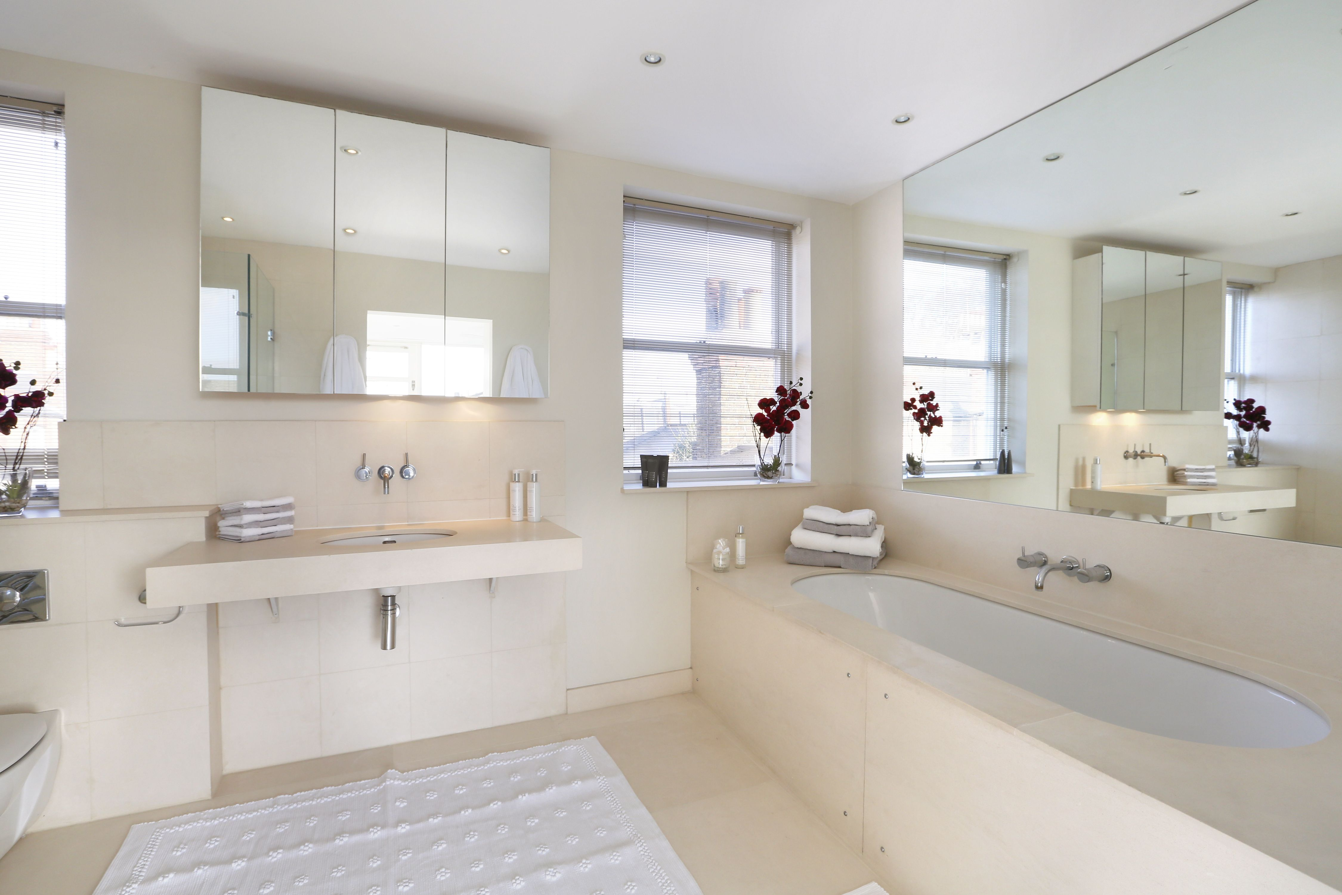 styling and home staging bathrooms in London properties for sale ...