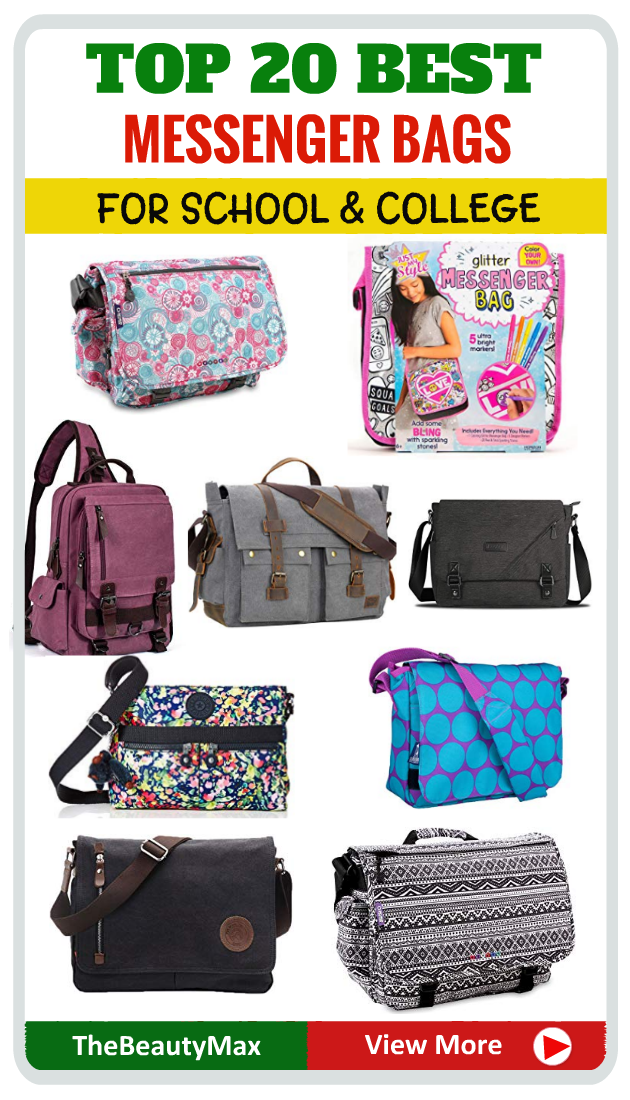 Best Cute Messenger Bags For College School Students