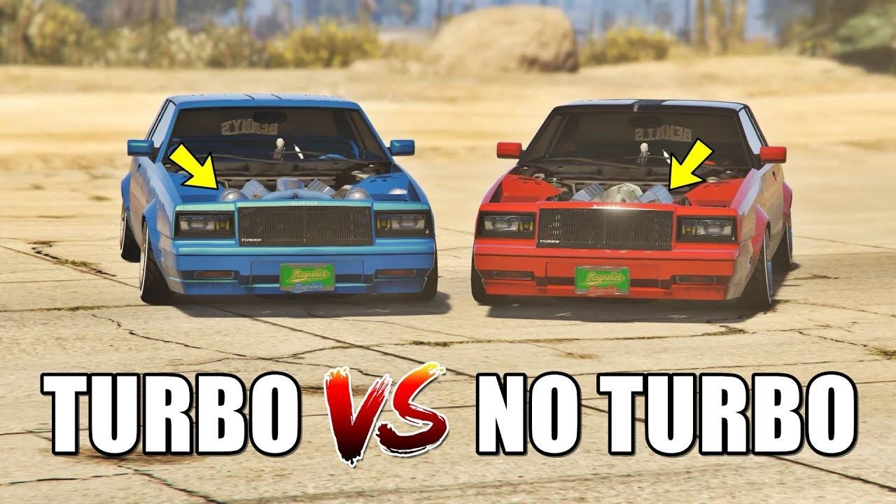 GTA 5 ONLINE - TURBO VS NO TURBO (WHICH IS FASTEST?) | GTA 5 ONLINE