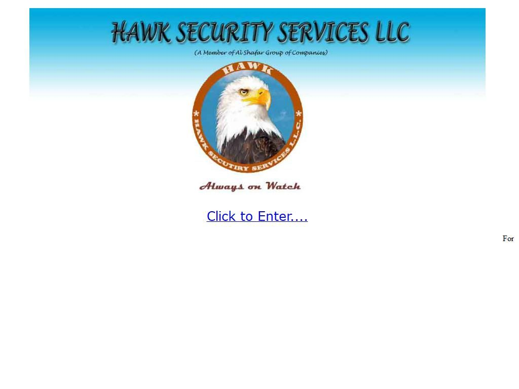 Hawk Security Services, Llc Falcon B1, 19, 44 Street 3 Floor