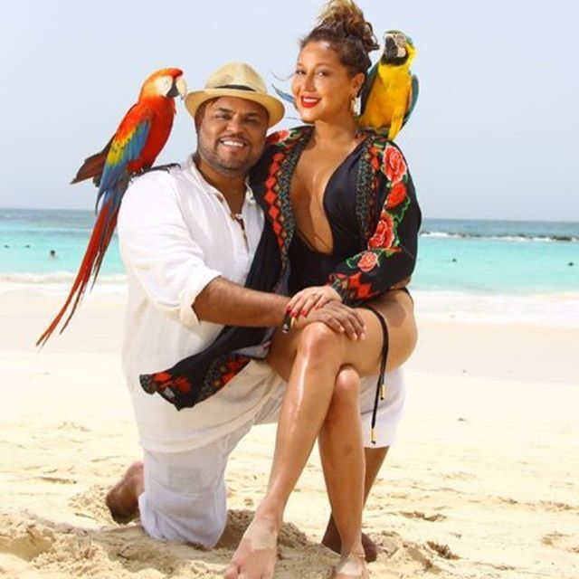 Adrienne Bailon Treated Her Husband To A Relaxing Birthday