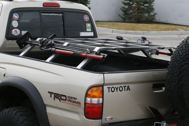 2nd Gen Bed Rack Expedition Portal Tacoma Mods
