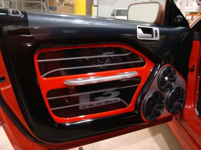 Custom Mustang Interior T3 Audio 2009 Cars