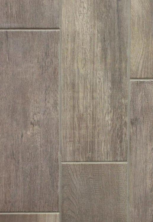 Emblem Grey Wood 7 X 20 Ceramic Floor Tile Bathroom Remodel