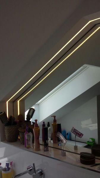 die besten 25 spiegelbeleuchtung ideen auf pinterest wandregale f r badezimmer. Black Bedroom Furniture Sets. Home Design Ideas