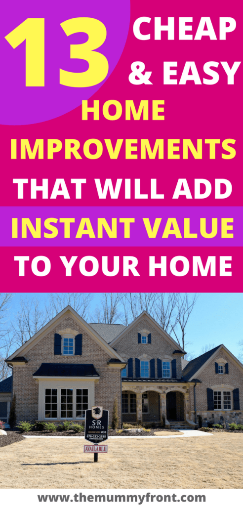 How To Add Value To Your Home Home Improvement Home Improvement