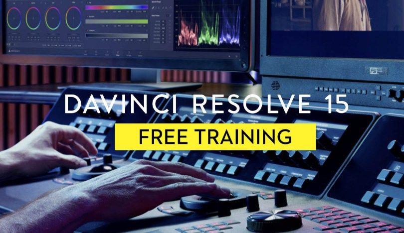 Free Davinci Resolve 15 online training in 2019 Free