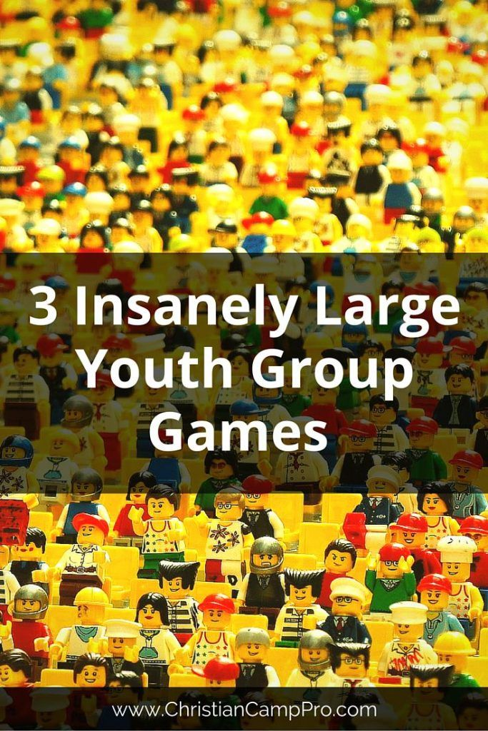 3 Insanely Large Youth Group Games Large group games for