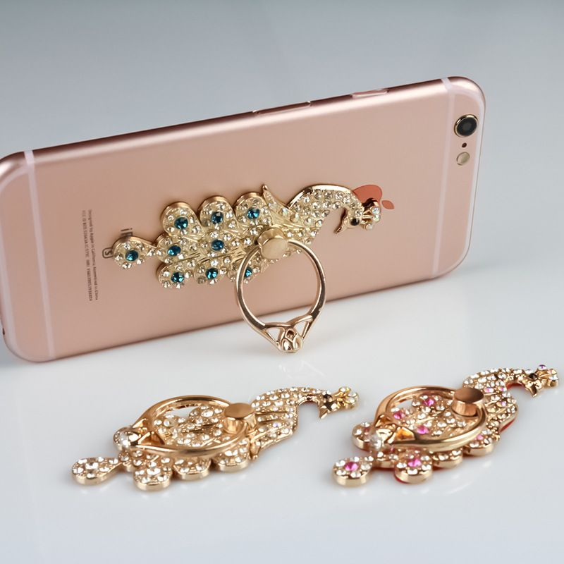 For iPhone iPad for all Smart Phone Beautiful peacock shape Luxury 360 Degree Finger Ring Mobile Phone Smartphone Stand Holder #>=#>=#>=#>=#> Click on the pin to check out discount price, color, size, shipping, etc. Save and like it!