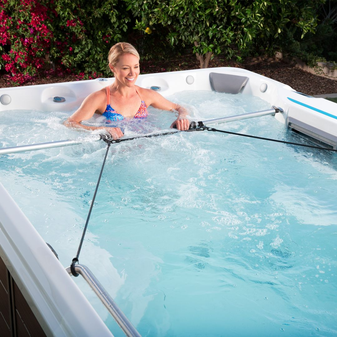 Rock N Row Your Way Into Fitness From Home Until September 3rd When You Purchase An Endless Pools Fitness Syste Endless Pool Swim Spa Therapy Pools