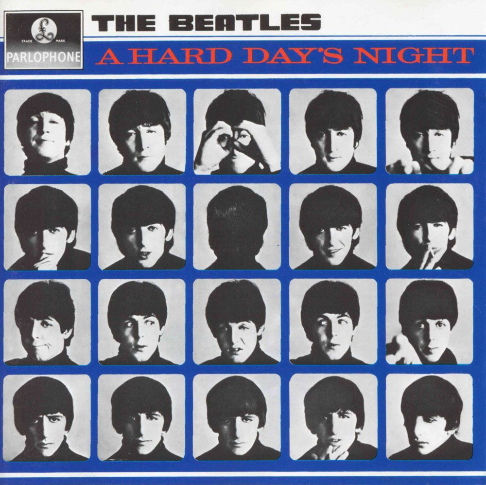 The Beatles - A Hard Day's Night (1964) | Beatles, Mejores ...