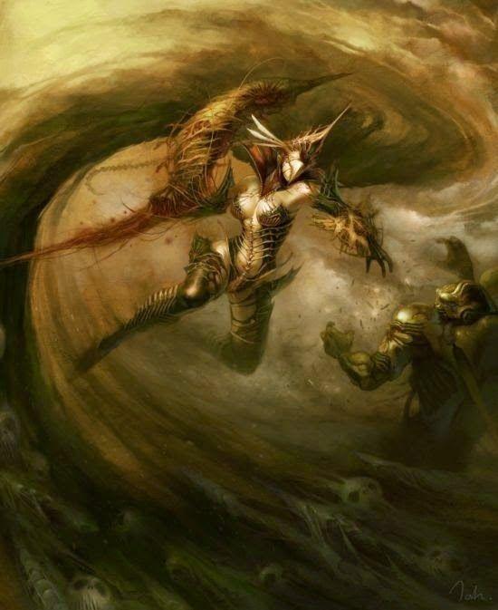 As incríveis ilustrações de fantasia de Kyoung Hwan Kim