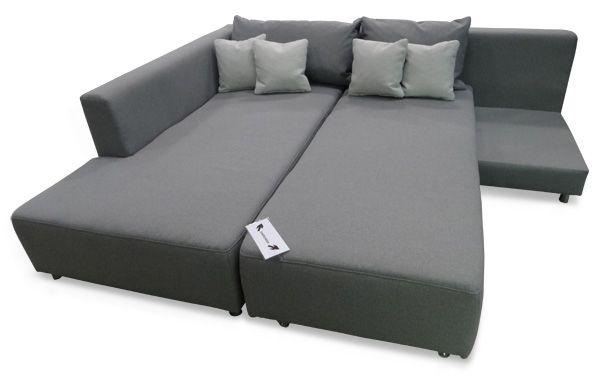 Das Bett Ecksofa Mit Beweglichem Schenkel Schlaffunktion Federkern Ecksofa Schlaffunktion Sofa Mit Schlaffunktion Ecksofa