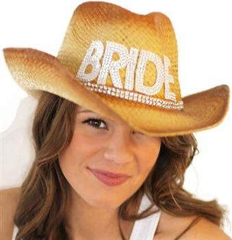 Western Straw Bride Hat With Veil Bachelorette Party Supplies Bachelorette Party Supplies Country Bachelorette Parties Bachelorette Party