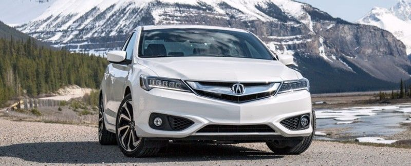 2016 Acura Ilx In White Check Out That View