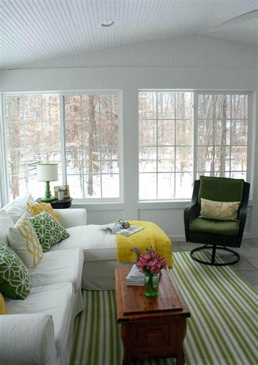 Best 45 Cheap Sunroom Furniture Ideas Homenthusiastic Sunroom