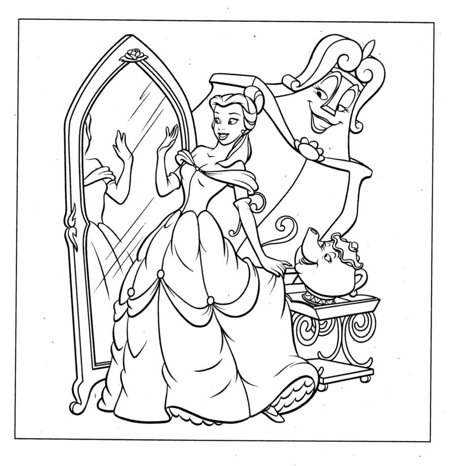 Coloring Pages Disney - Dr Odd Disney prinzessin