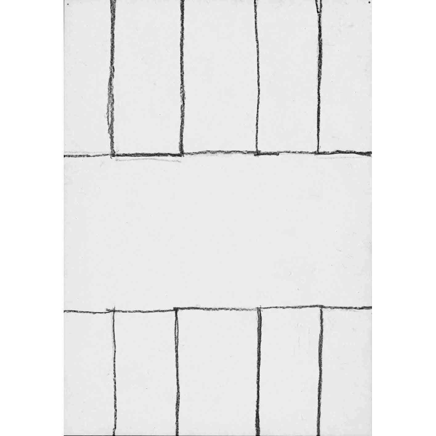 """Linda Karshan (1) 10/4/02 Graphite on paper Signed and dated verso. 21 cm x 14.7 cm (8.3"""" x 5.8"""")"""