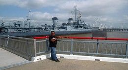 USS Kidd- to see in BR,LA