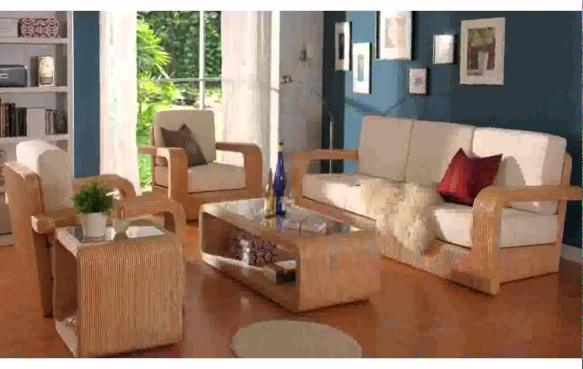 Modern Wooden Sofa Set Designs For Small Living Room In 2020 Room Furniture Design Wooden Living Room Furniture Wooden Sofa Set Designs