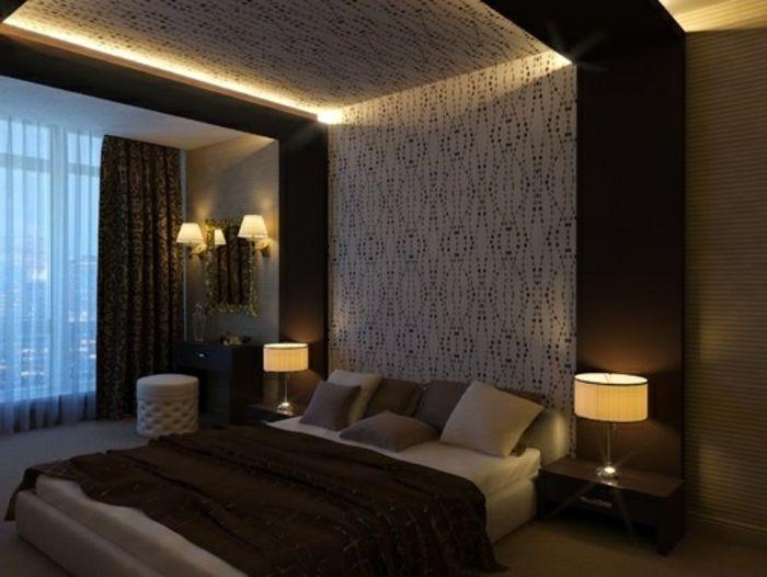Indirekte Beleuchtung an Decke 68 tolle Fotos! Bedroom