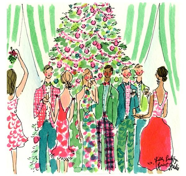 "isleepincashmere: "" lillypearlsprep: "" Have a merry lilly Christmas "" x """