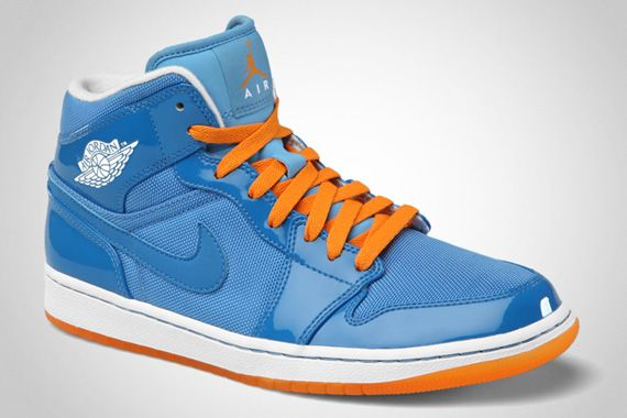 wholesale dealer 36802 12627 Air Jordan 1 Phat – Italy Blue – Vivid Orange – University Blue..why is it  that only the guys get the cool shoes   notfair