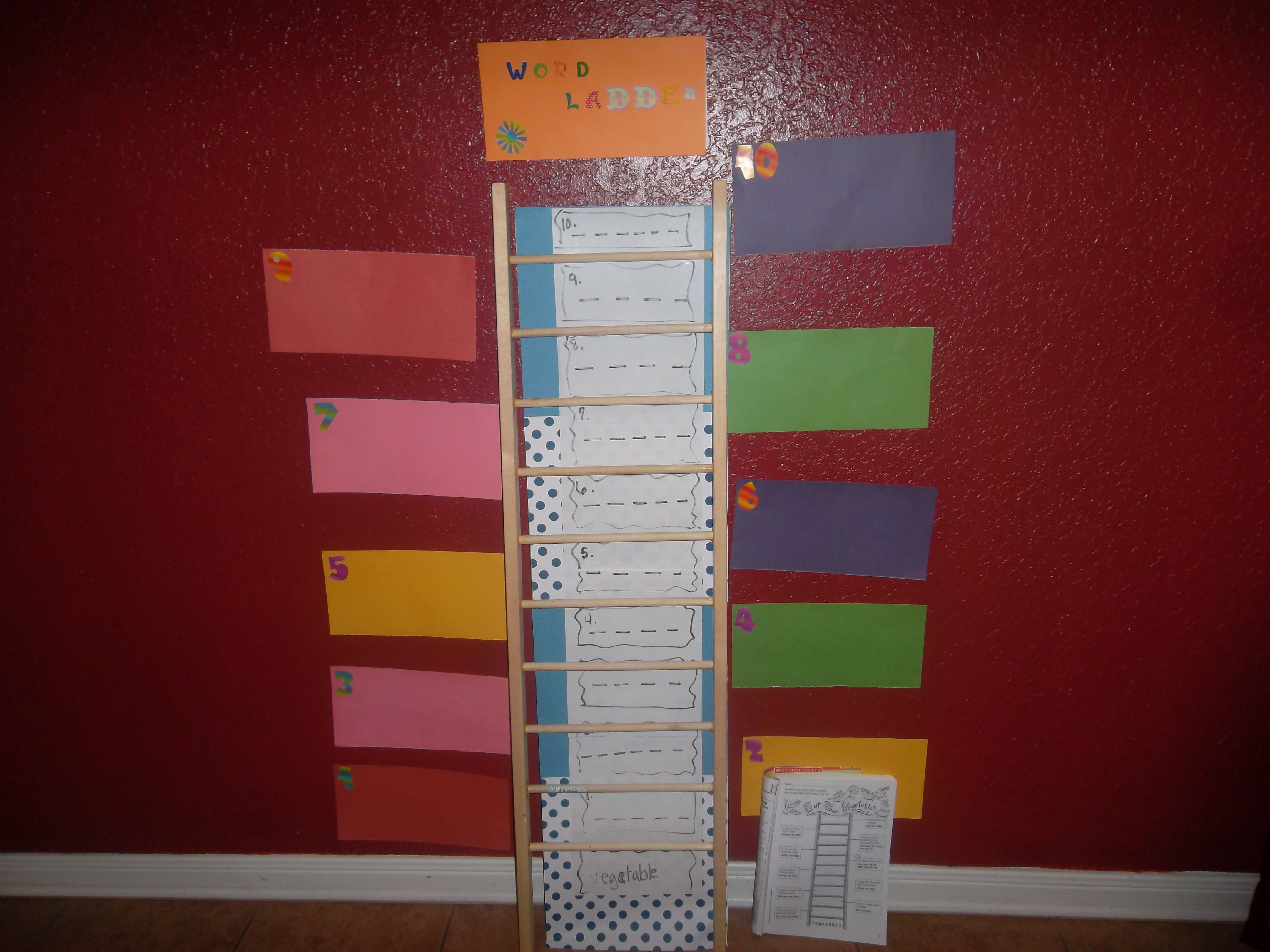 Word Ladder Using Scholastic S Daily Word Ladders By