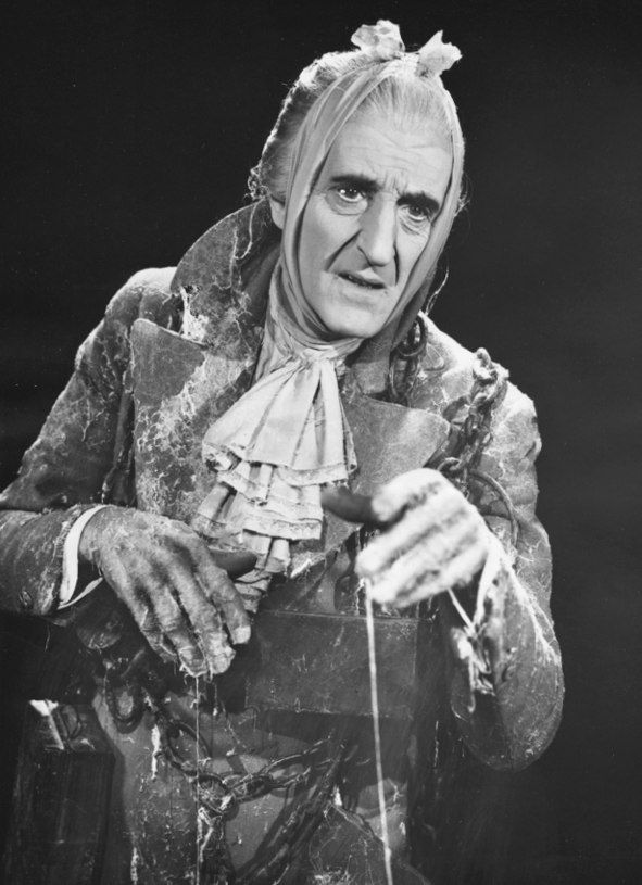 Jacob Marley, Scrooge\'s former partner, is the first of four ghosts ...