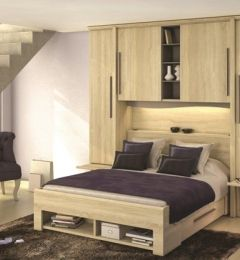 pont de lit chambre dressing pinterest. Black Bedroom Furniture Sets. Home Design Ideas