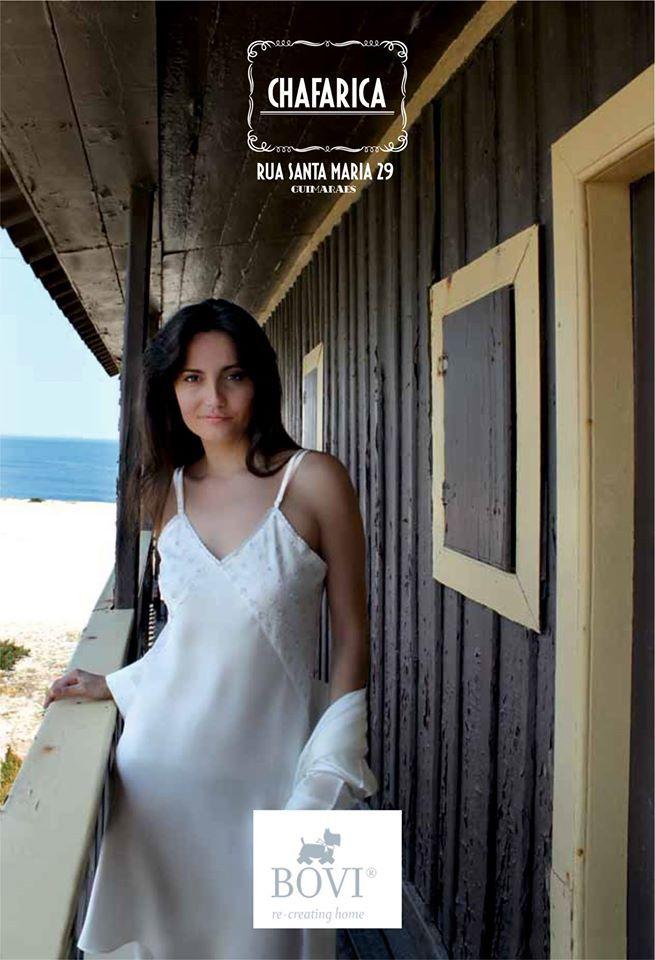 Camisa de Noite em Seda - 100% Seda Silk Short Nighdress -100% Silk
