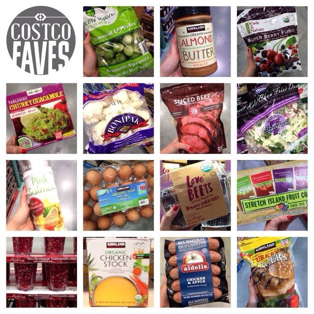 Costco can be intimidating for those on the lookout for healthy - food list samples