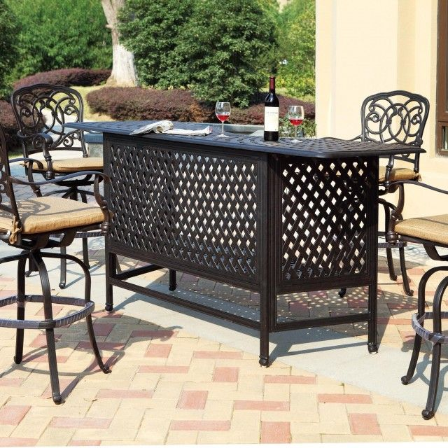 Cast Aluminum Patio Furniture The Favorite Option For Outdoor