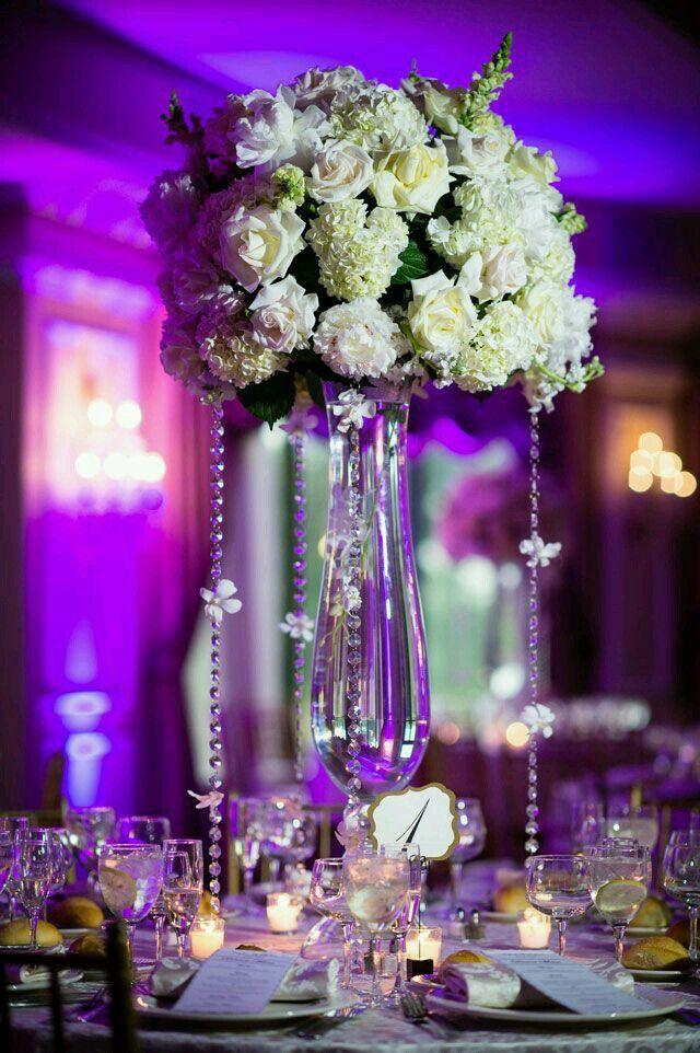 Arreglos florales con cristales es lo ultimo que esta de - Cristales para mesa ...