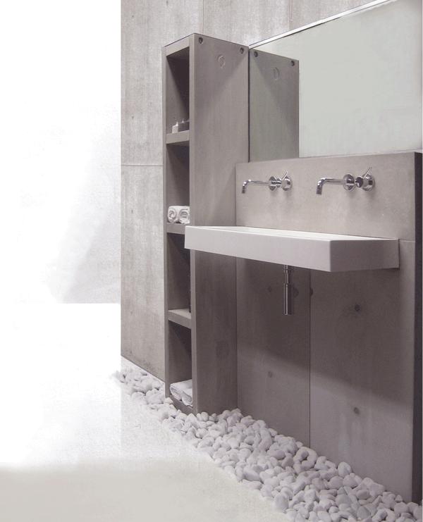 design betonwanden voor de badkamer | gimmii magazine, Badkamer