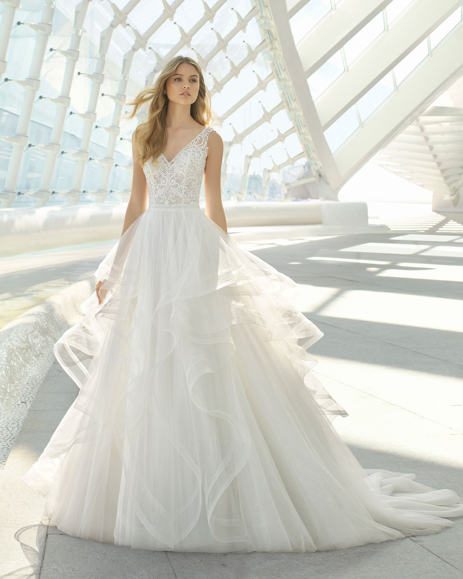 Diamond bridal 2019 rosa clara collection wedding
