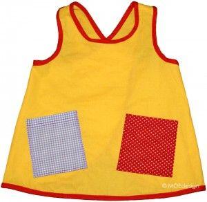 fac9058c5b1a Pippi-klänning | Sytt med Ottobre mönster | Mönster klänning ...