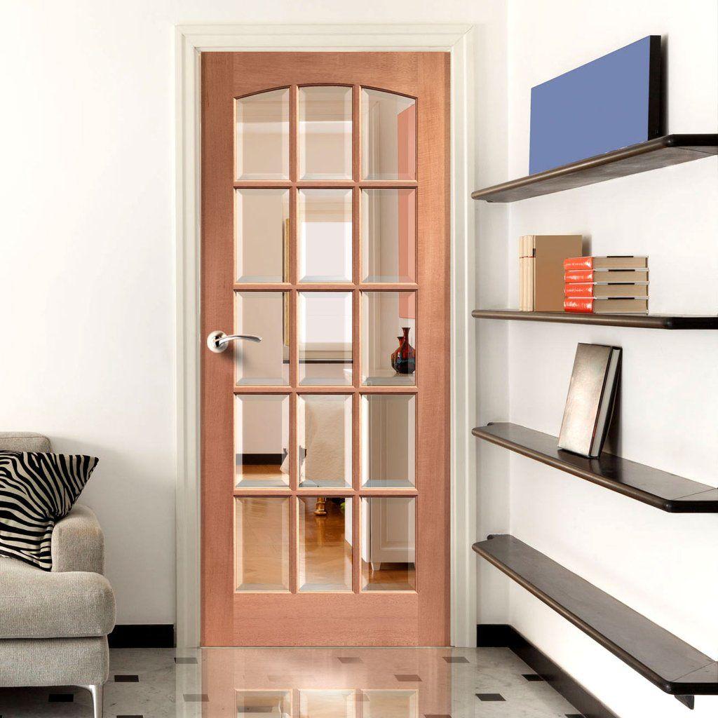 Pin Op Internal Mahogany Doors