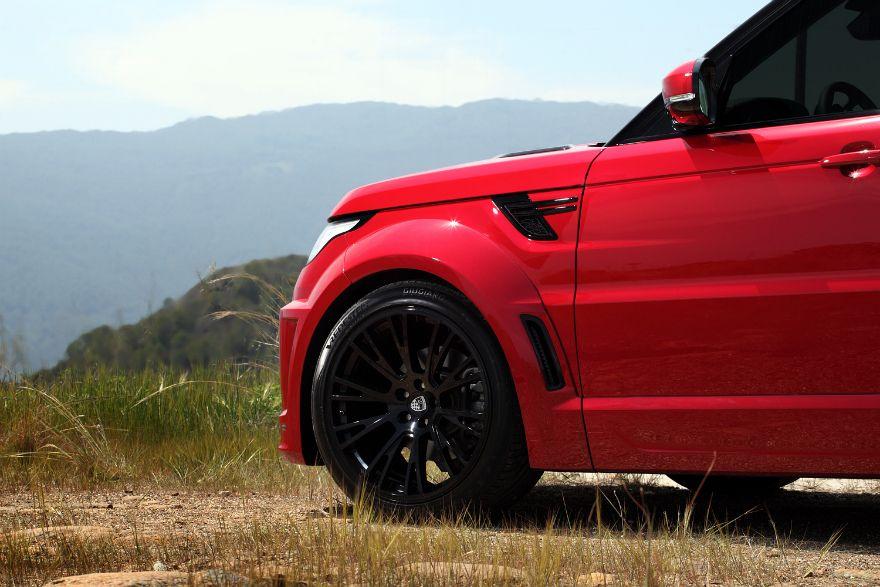 Range Rover Sport Lumma CLR RS Red (photo 12)