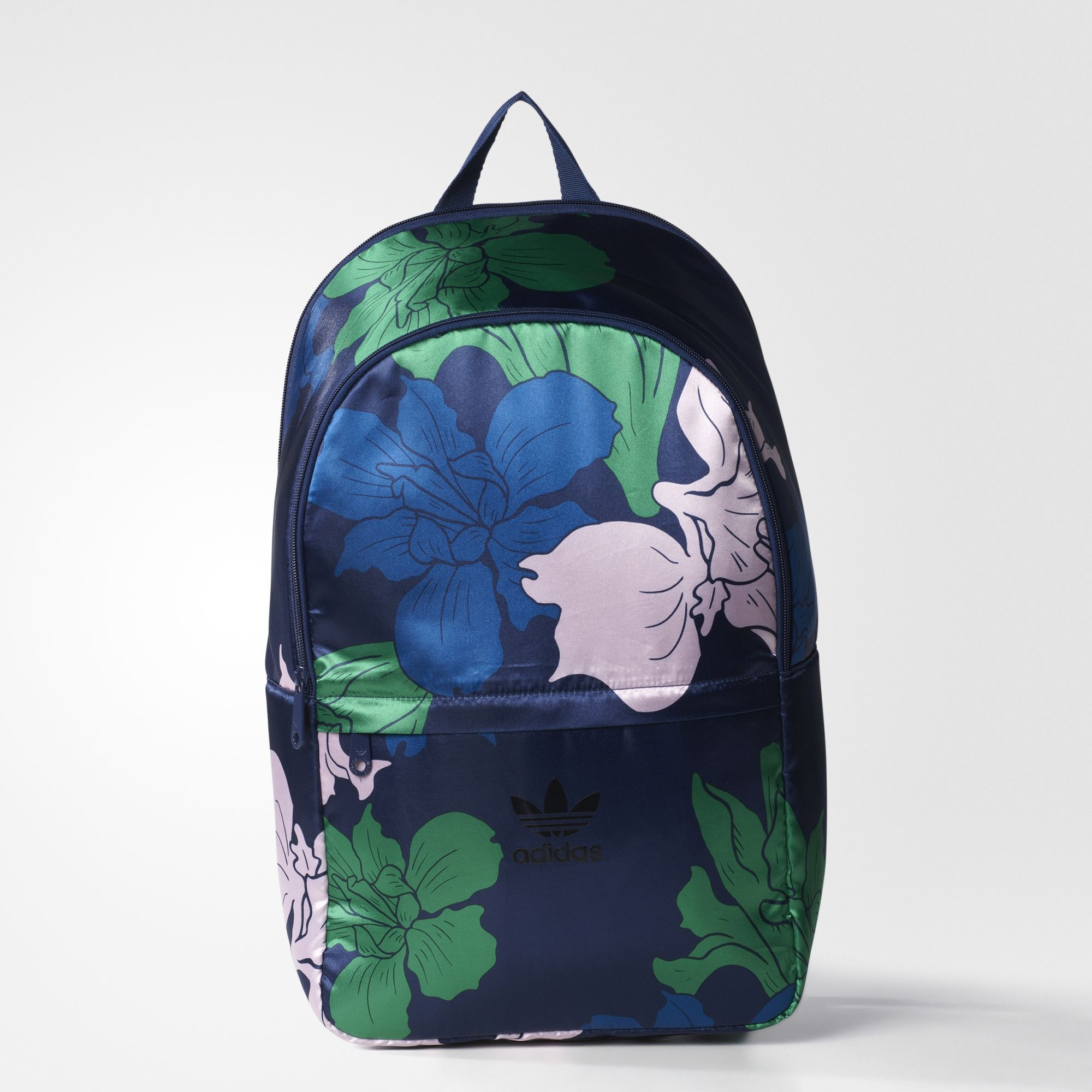 adidas floral engraving essentials backpack bolsos pinterest