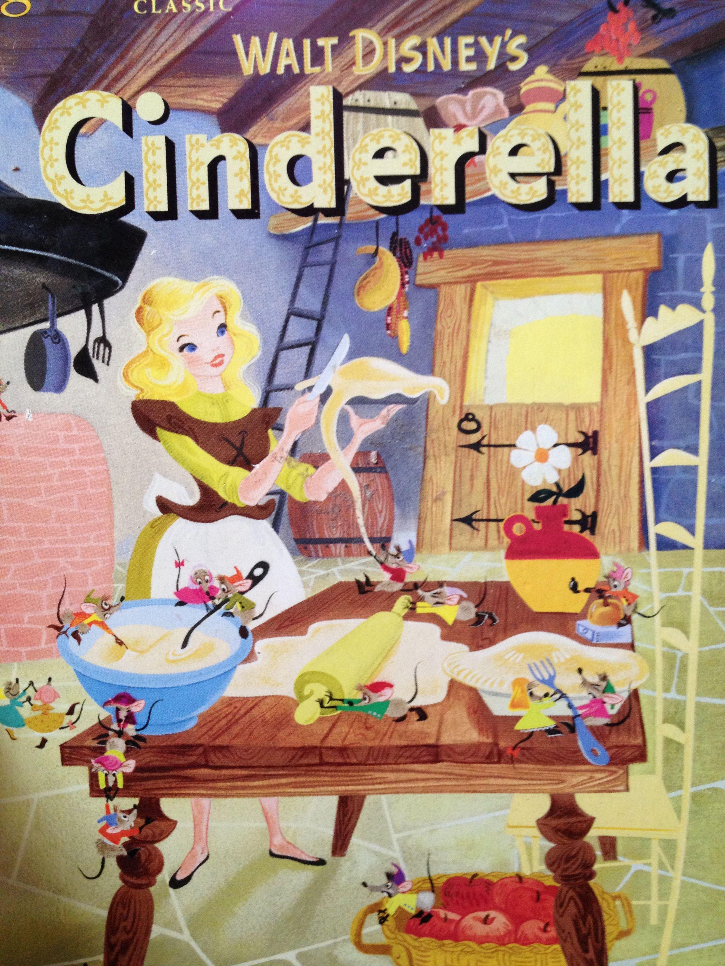Cinderella golden book illustrated by rhetta scott