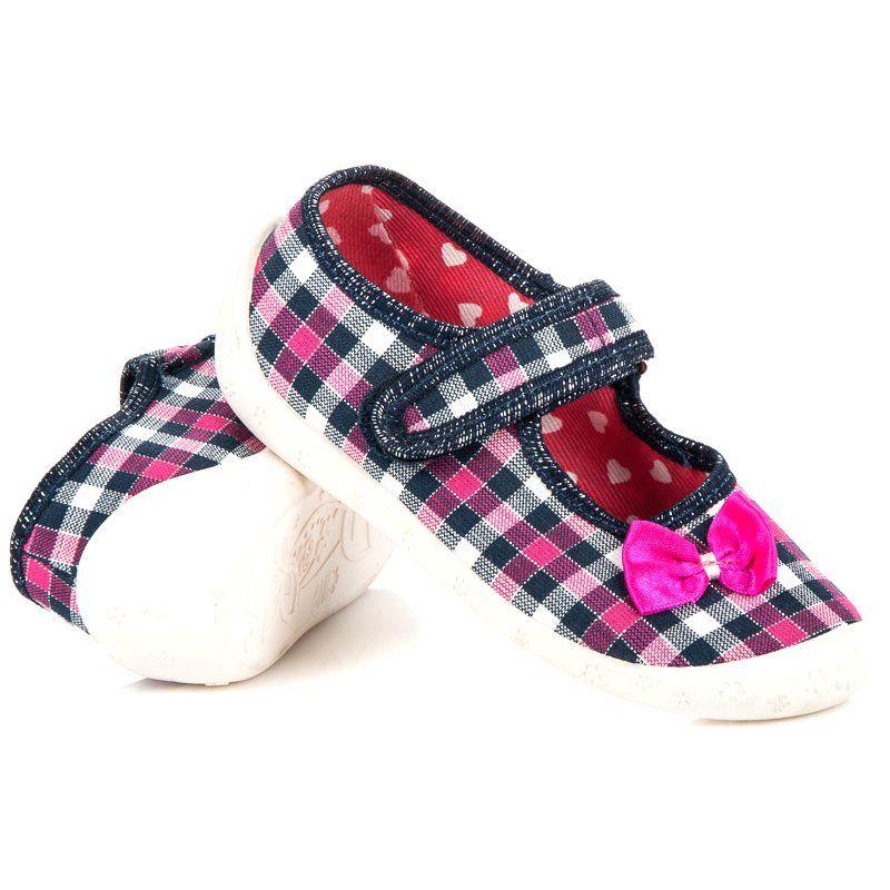 Reweks Buty Domowe W Kratke Rozowe Baby Shoes Shoes Fashion