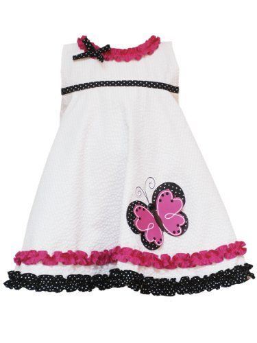 Rare Editions Baby Baby-Girls Infant Seersucker With Ruffles Dress, White, 18 Months Rare Editions, http://www.amazon.com/dp/B007EIROZK/ref=cm_sw_r_pi_dp_AM.nqb0BCQ0EW