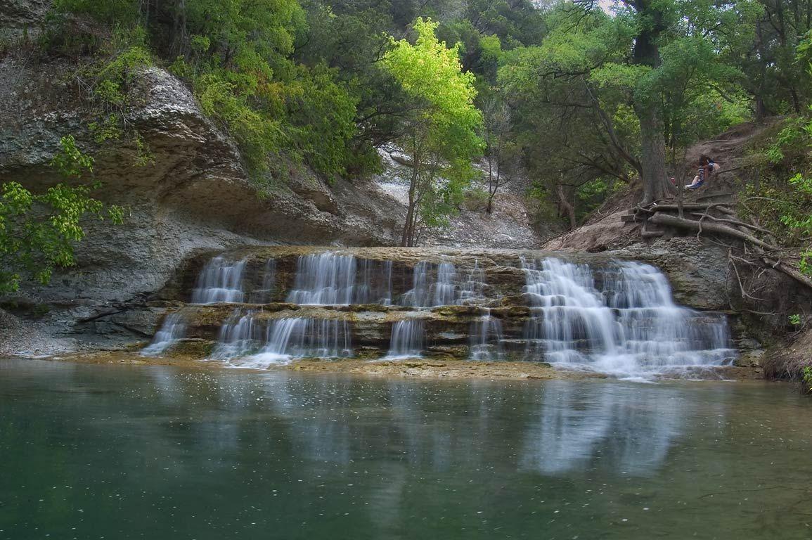 Belton Lake Dam Pond Of Chalk Ridge Falls Park