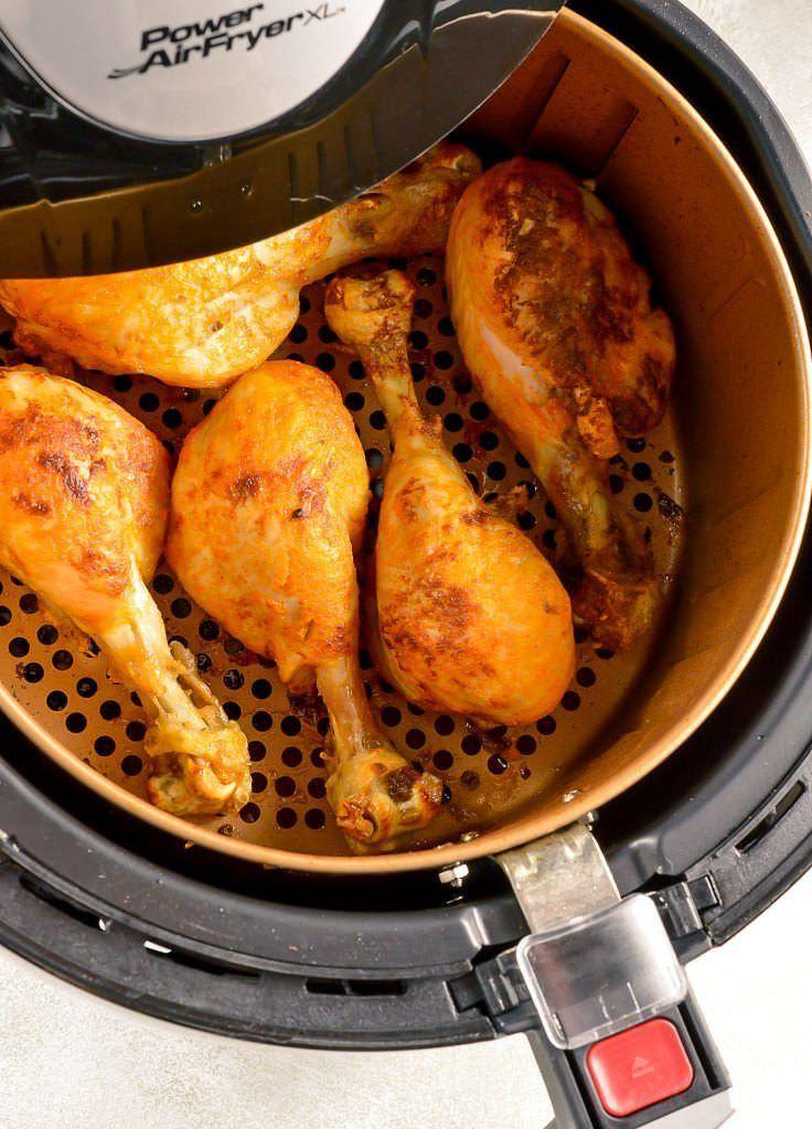 chicken drumsticks in air fryer basket Air fryer chicken