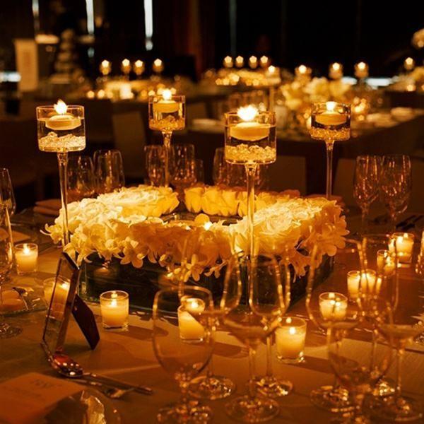 Wedding Reception Ideas: The Magic of Candlelight - MODwedding ...