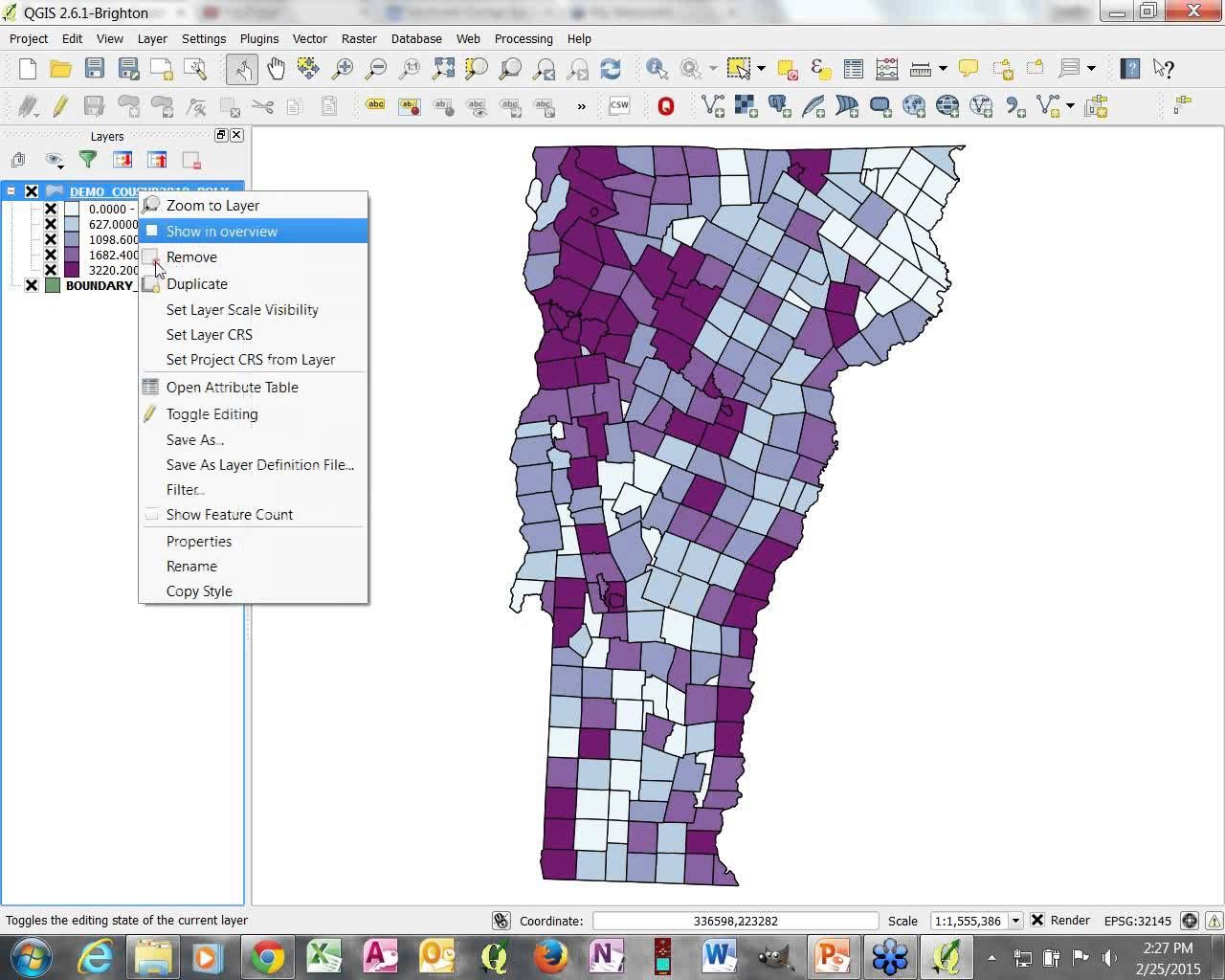 QGIS is a free and open source GIS software program that can