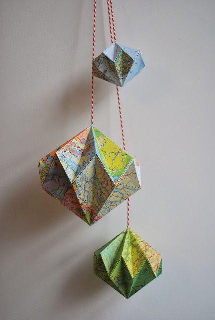 Kerstige origami