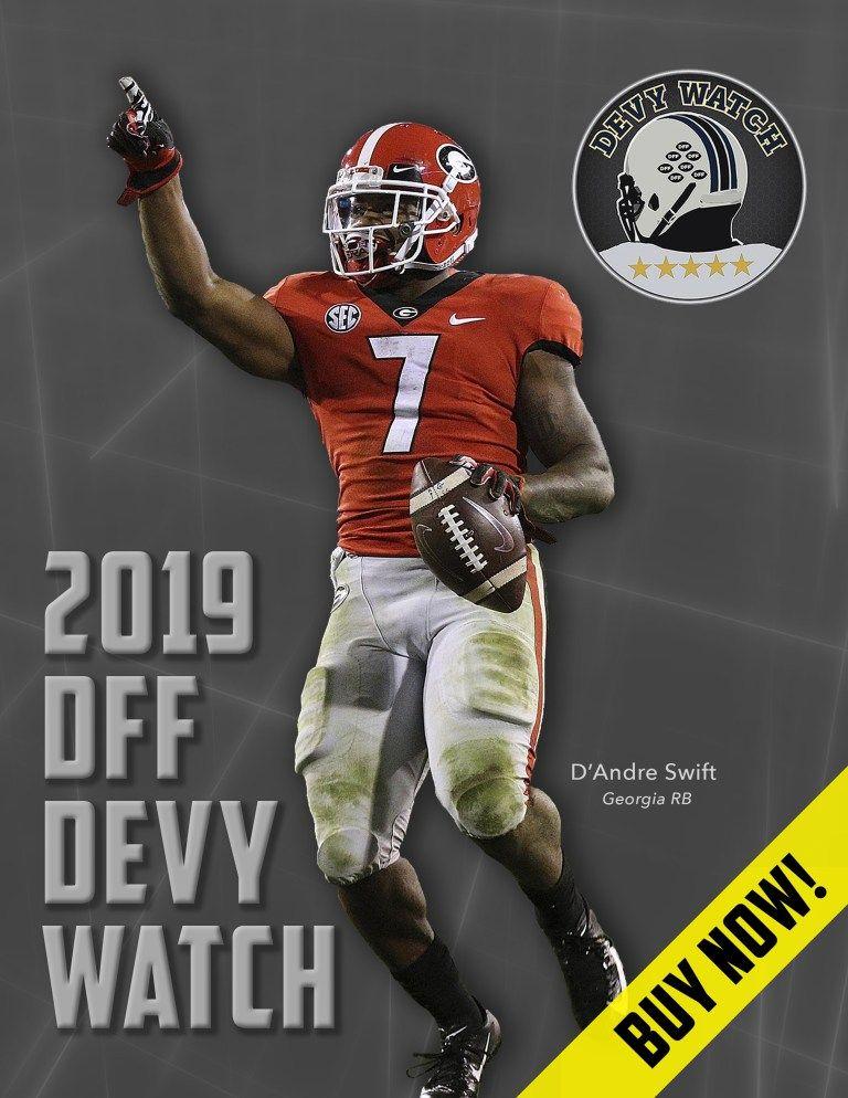 Order 2019 devy watch dynasty football factory