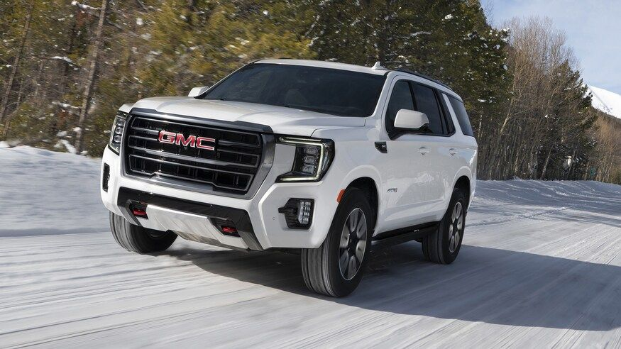 2021 Gmc Yukon Denali Review A Quick Spin In Gmc S New Big Boy In